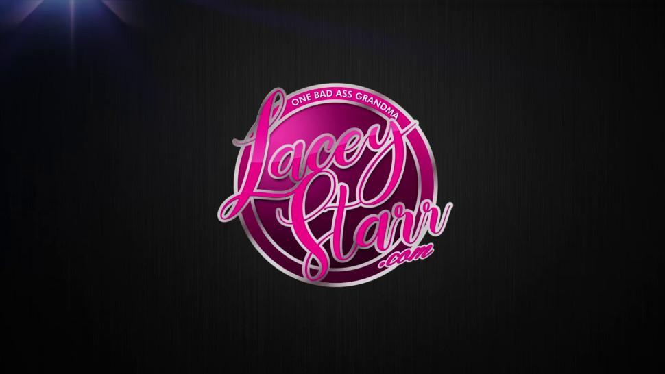 LACEYSTARR - Kinky GILF bondage in lesbian threesome - Lacey Starr