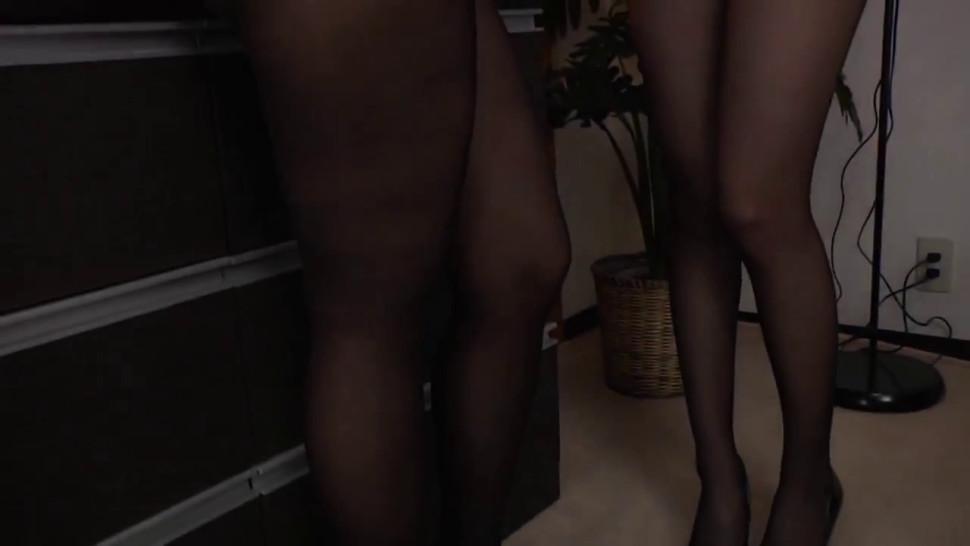 Pantyhose lesbian Mai kuroki