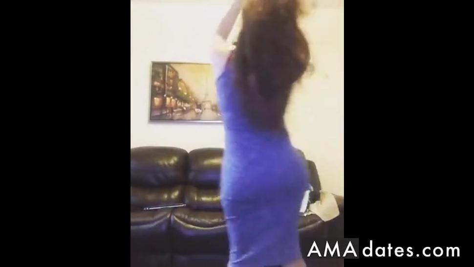 Huge Ass belly Dancing