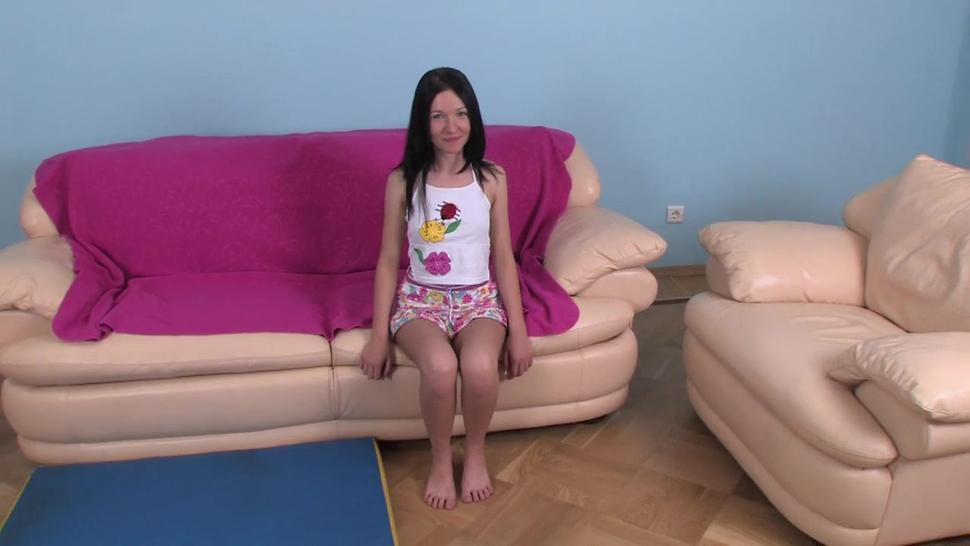 Teenage Sasha Gets Double Penetrated - Sasha Rose
