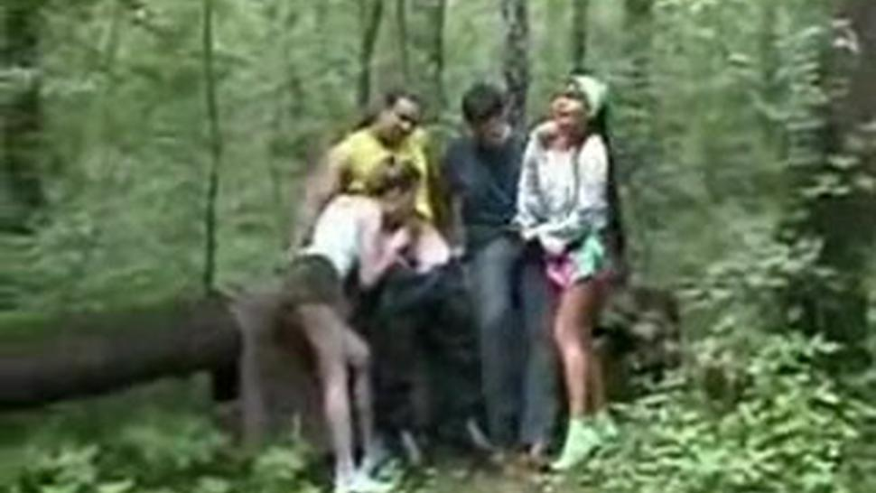Group/group sex outdoor amateur