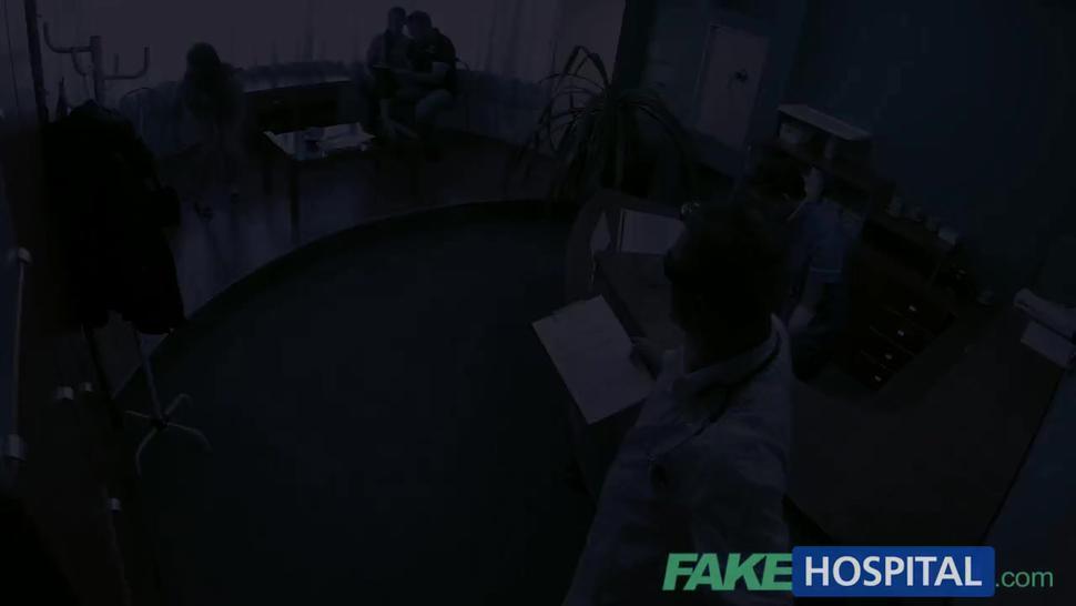 Fake Hospital Hot Italian girl with big tits has intense multiple orgasms