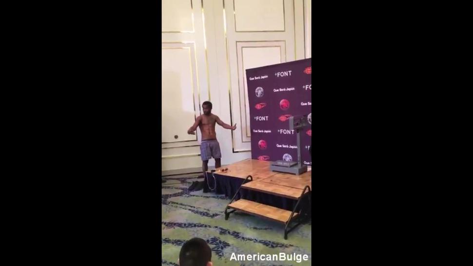 Straight Black Boxer