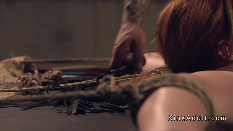 Huge Boobs Redhead Slave Tits Whipped