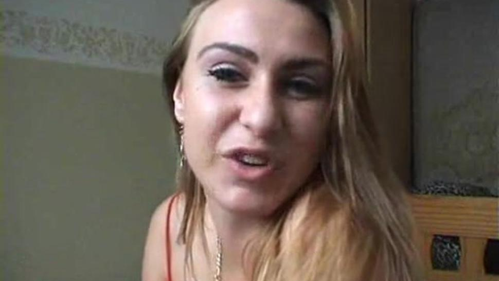 Euro Slut Strips And Pussy Plays For The Cam