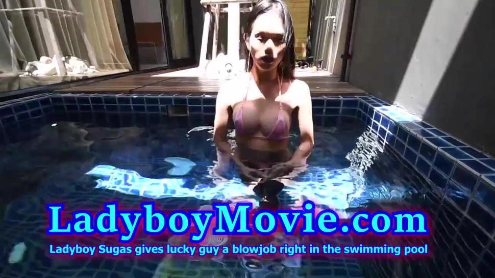 Hd/swimming in blowjob sugas a