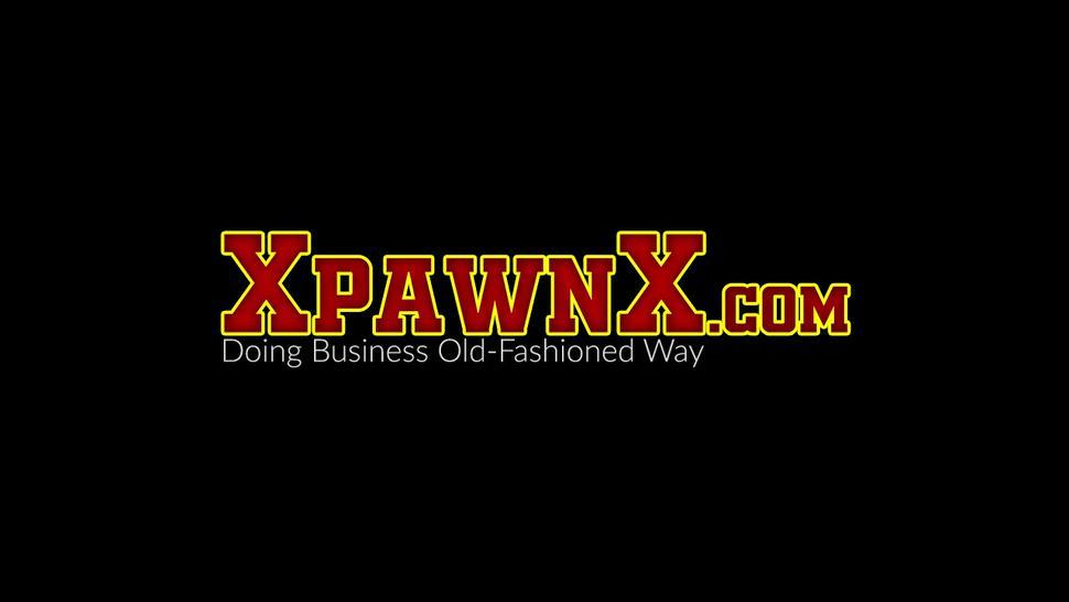 XPAWNX - Natural tits amateur pussy drilled reverse cowgirl style
