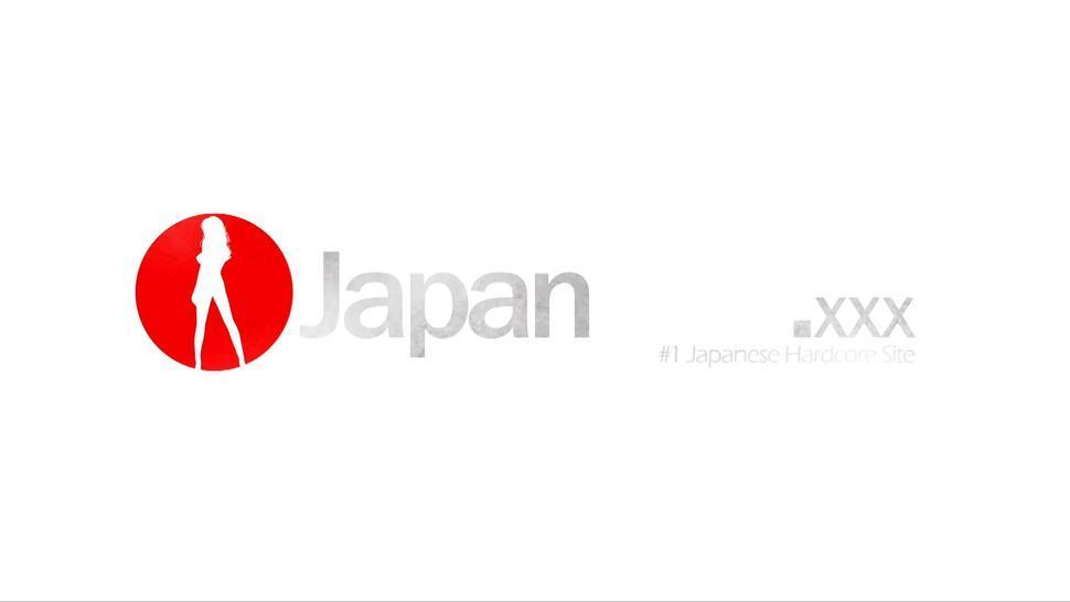 JAPAN HD - Gagged Japanese princess Mari Sasaki gets hairy snatch punished