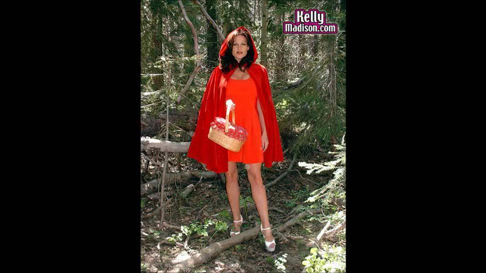Kelly Madison HUGE 34 FF Natural Titties PICS 'Little Red Riding'  (2001) Slideshow