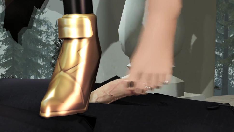 Fate/Grand Order Ereshkigal Footjob & Handjob By Oscarkim123