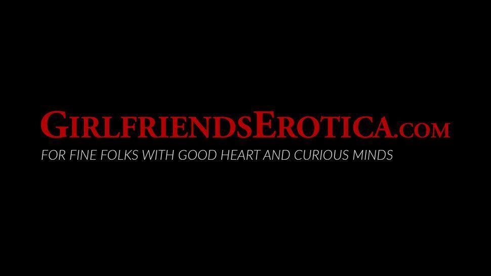 GIRLFRIENDS EROTICA - Lesbian goddess Autumn Falls scissoring with blonde MILF