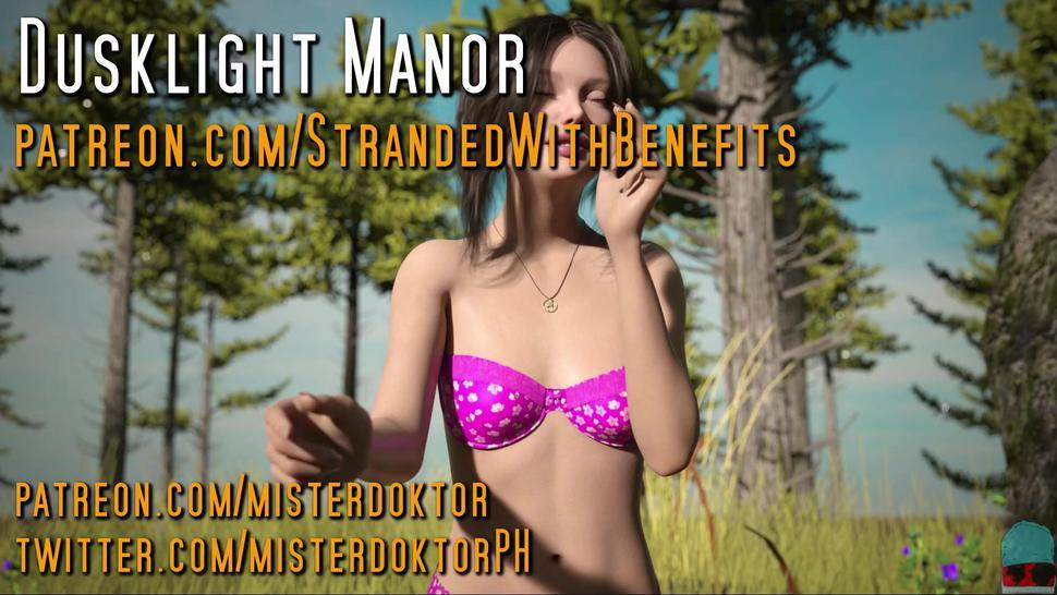 Hot babes in bathing suits • DUSKLIGHT MANOR #010