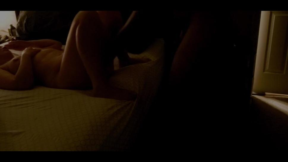 wife has loud intense squirting orgasm, male loud moaning
