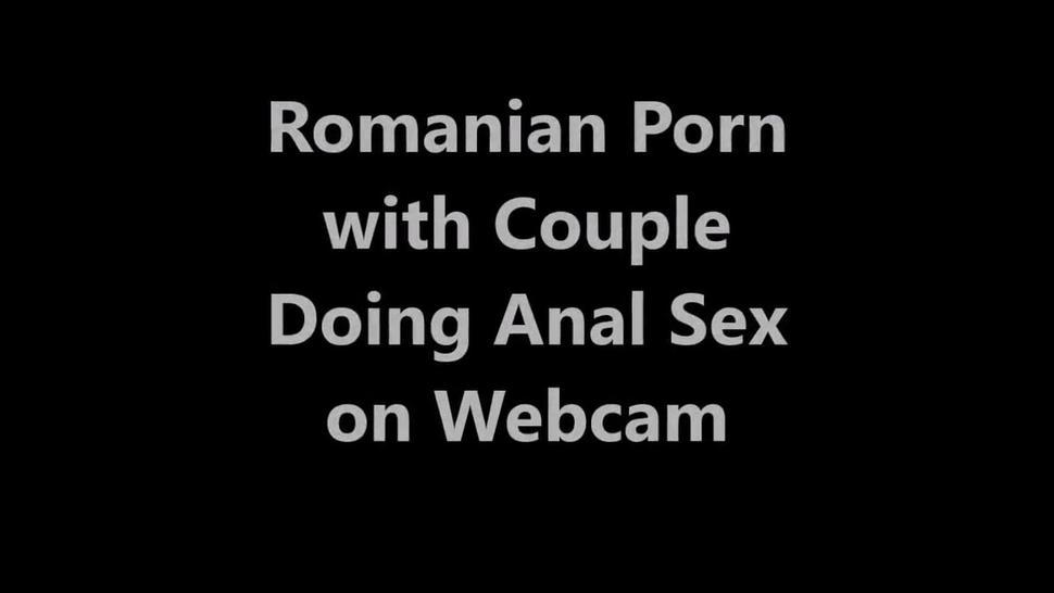 Romanian Porn with Couple Doing Anal Sex on Webcam
