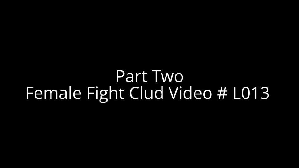 female fight club in leather part 2