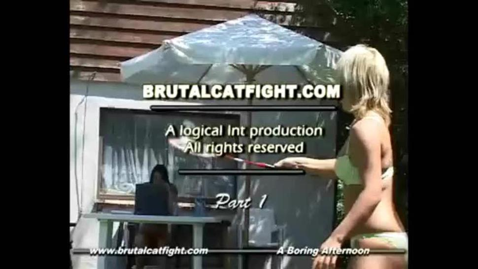 Brutal Catfight - A boring afternoon