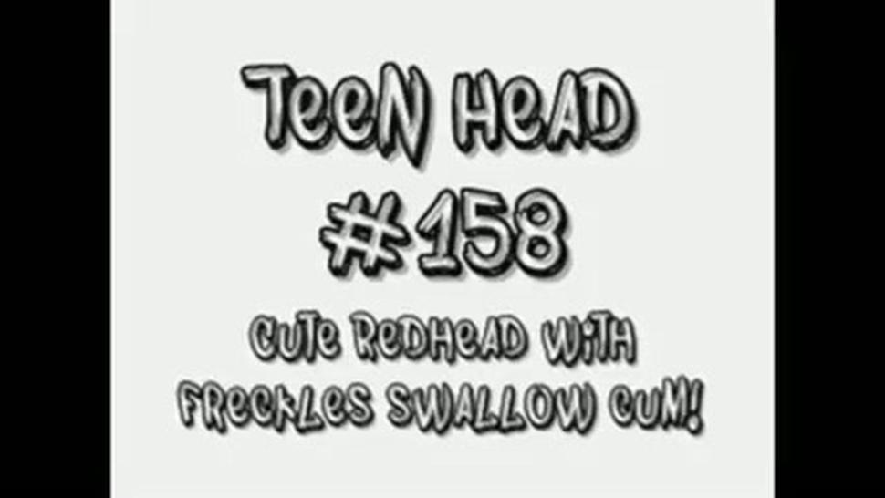 Redhead Teen Blowjob And Swallow