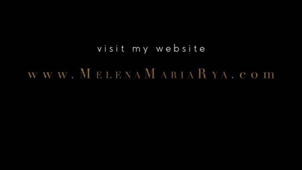 Melena Maria Rya Screw On Public Beach