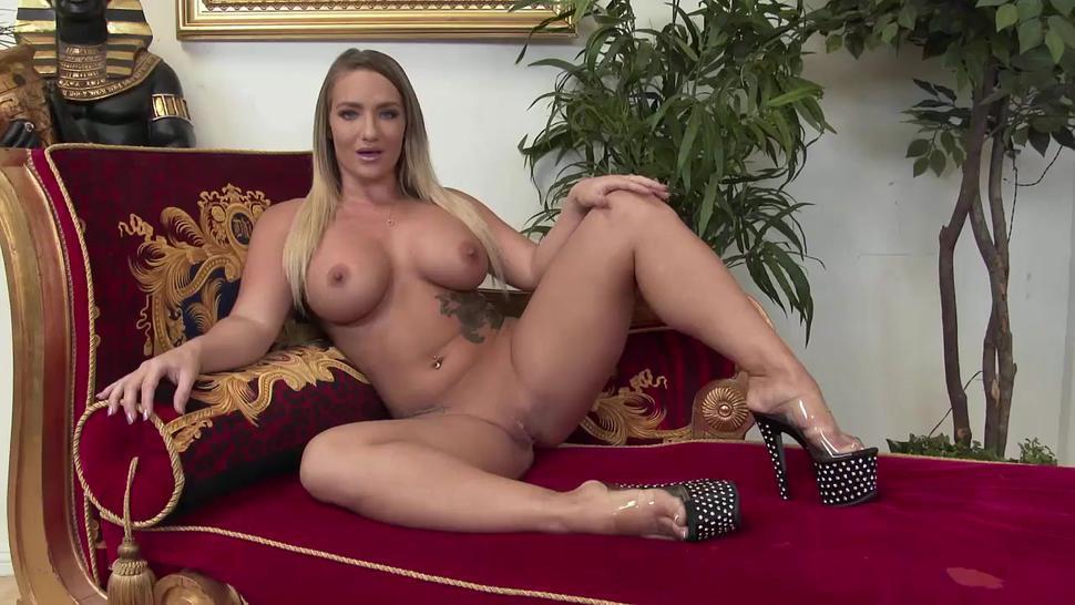 Blonde Wife Pleasures Her Husband S Friend - Angel Allwood