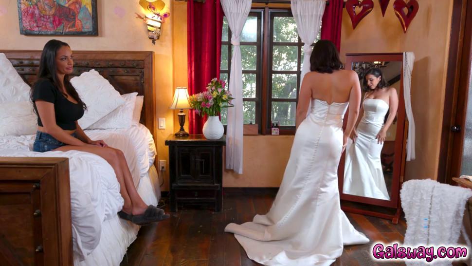 Sofi wonders if one day shell be a beautiful bride too like her friend Lasirena69