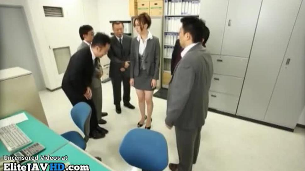 Jav sexy secretary smashed in office