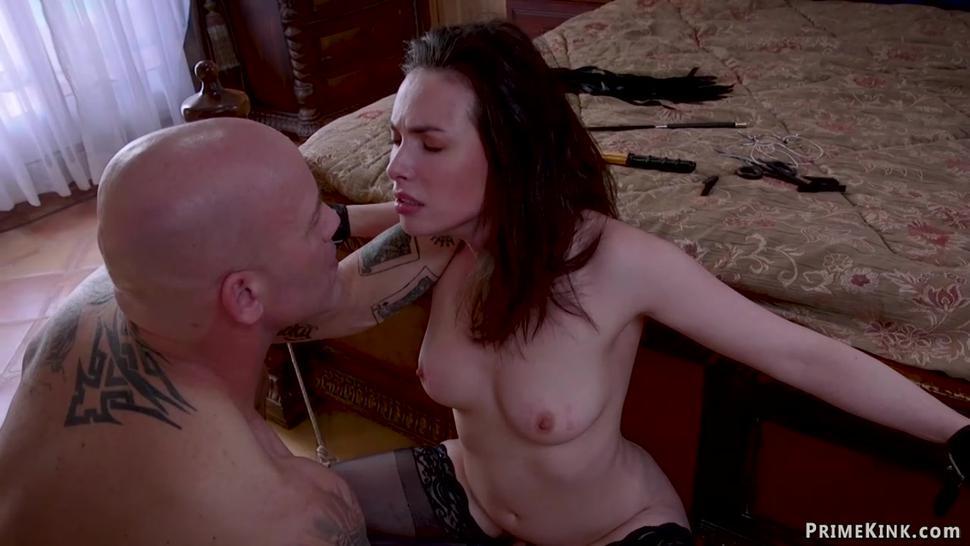 Horny stepsisters sharing big dick