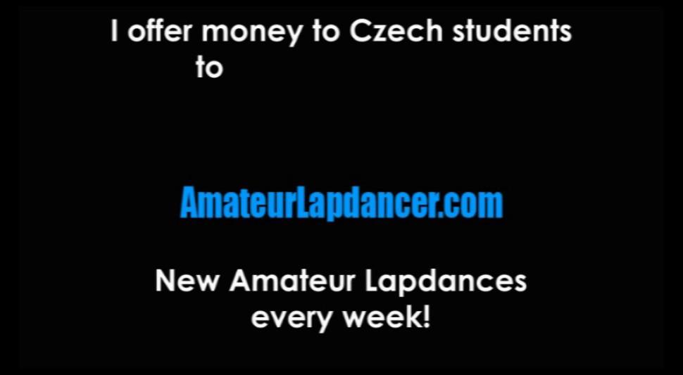 AMATEUR LAPDANCER - Teen blonde does lapdance and handjob at a casting