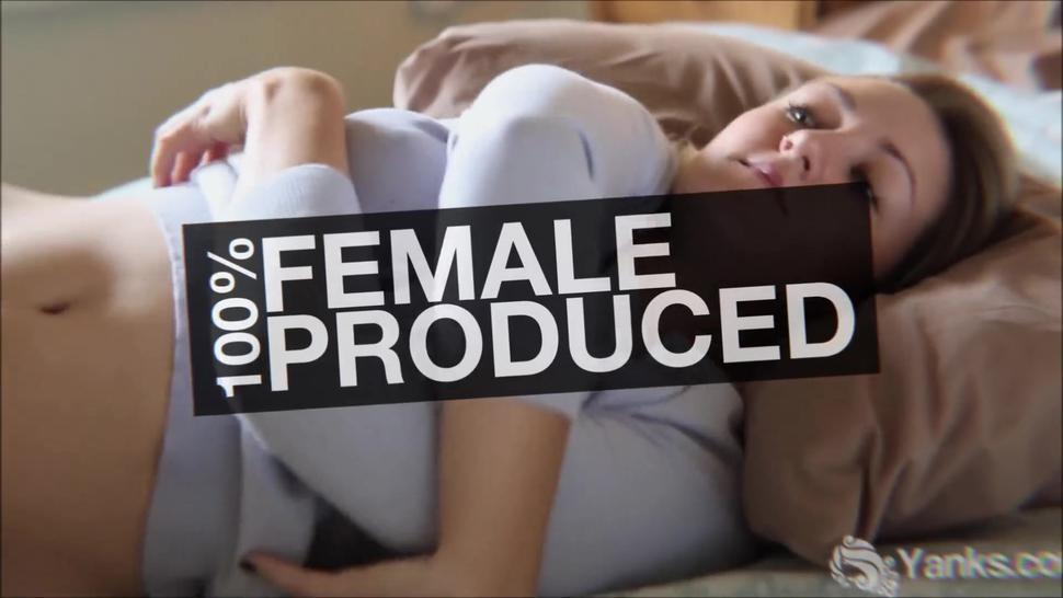 Female Director Series - Bobbie (Miley Look-a-like) Rubs her Clit Fast to a Pulsing Cum – Full Video