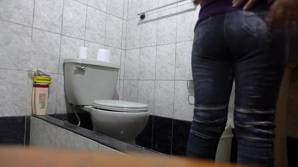 Public/bathroom anal hidden public at