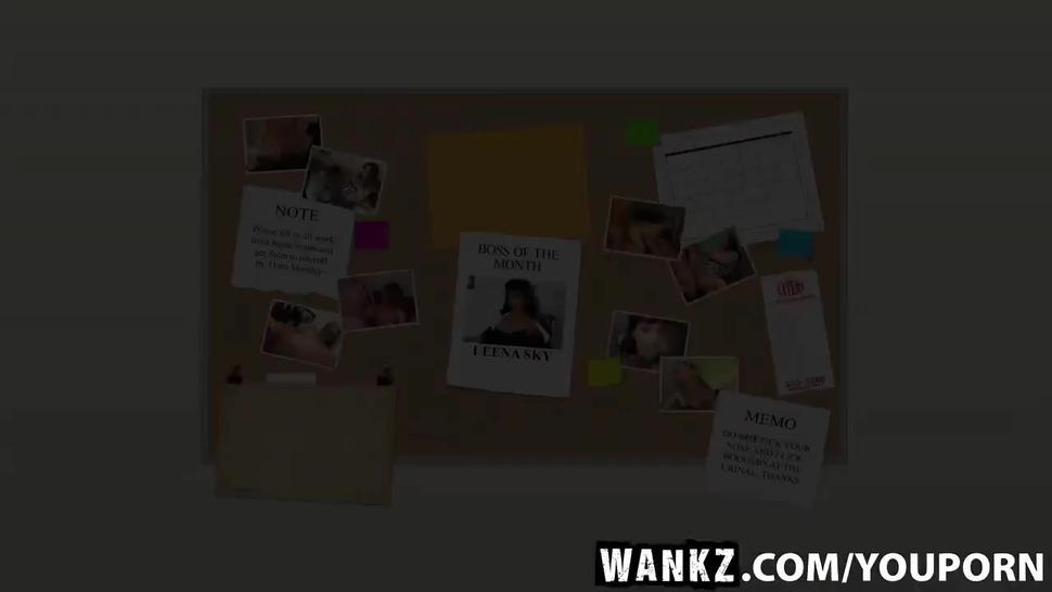 WANKZ- Boss Layla Rivera Fucks the Foreman