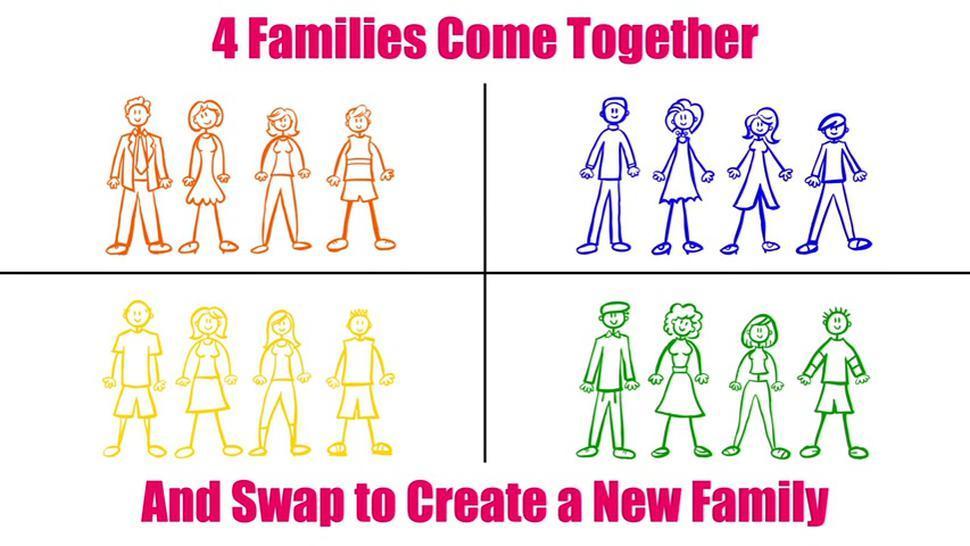 Family Hooking Up - Andi James And Jessae Rosae Family Swap