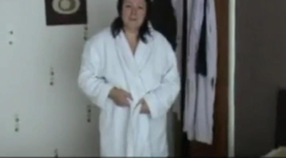 girl in very good shape - video 2