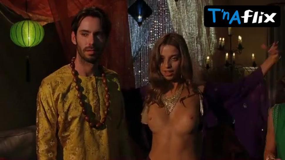 Angela Sarafyan Breasts Scene  in A Good Old Fashioned Orgy
