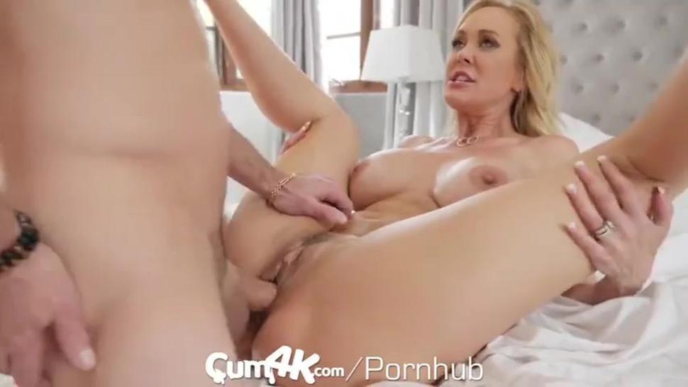 Brandi love huge load on pussy