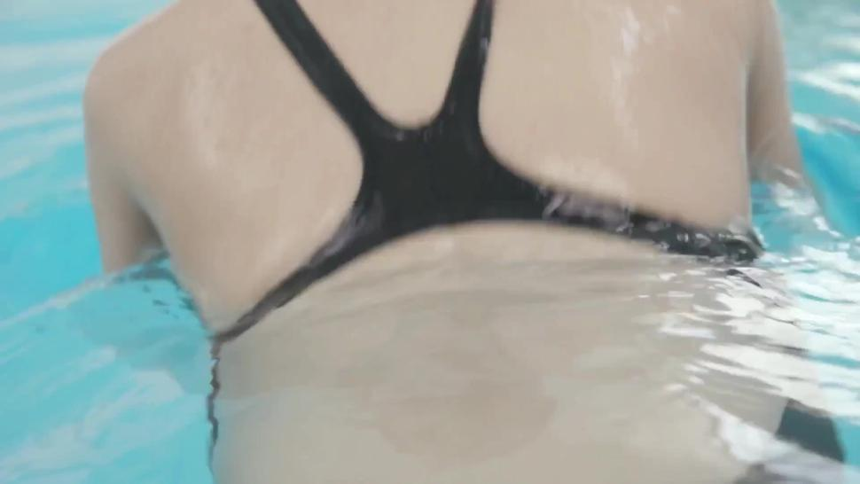 [LT19] FSET-841 Super BODY Of The Woman 170cm Of The Swimming Swimsuit Is Convulsions Crazy Iki Nakajo Kanon