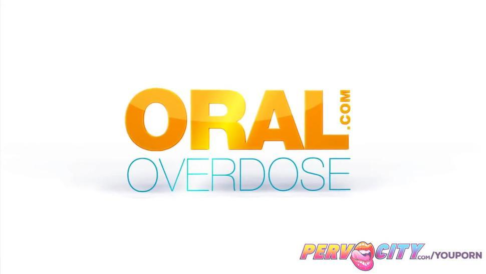PervCity Asa Akira Brooklynn Lee and London Keyes Oral Overdose