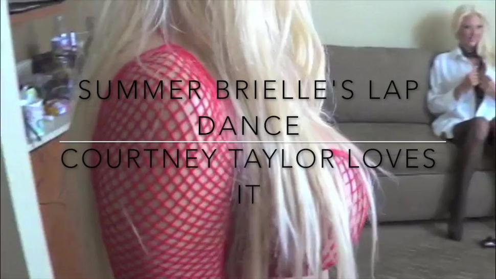 Summer Brielle S Sexy Lap Dance With Courtney Taylor - Summer Brielle Taylor