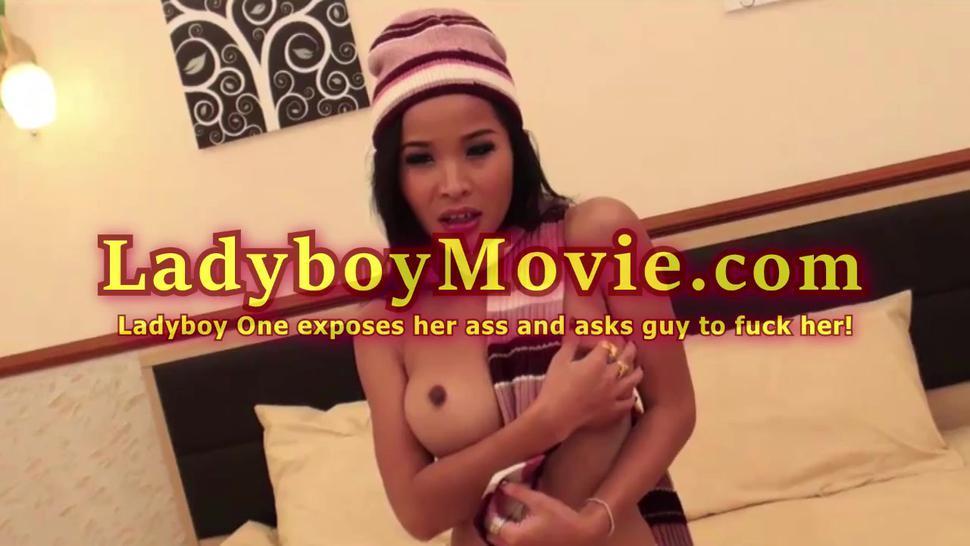 Ladyboy One Invokes Guy To Screw Her Ass
