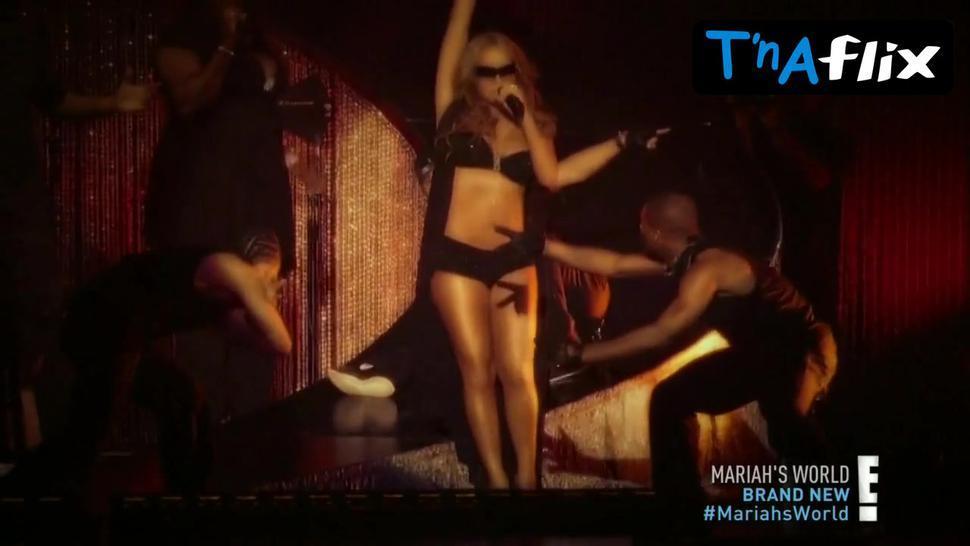 Mariah Carey Underwear Scene  in Mariah'S World
