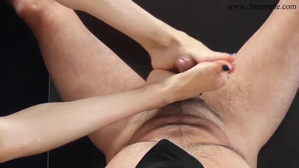 mistress alina gives footjob (trailer)