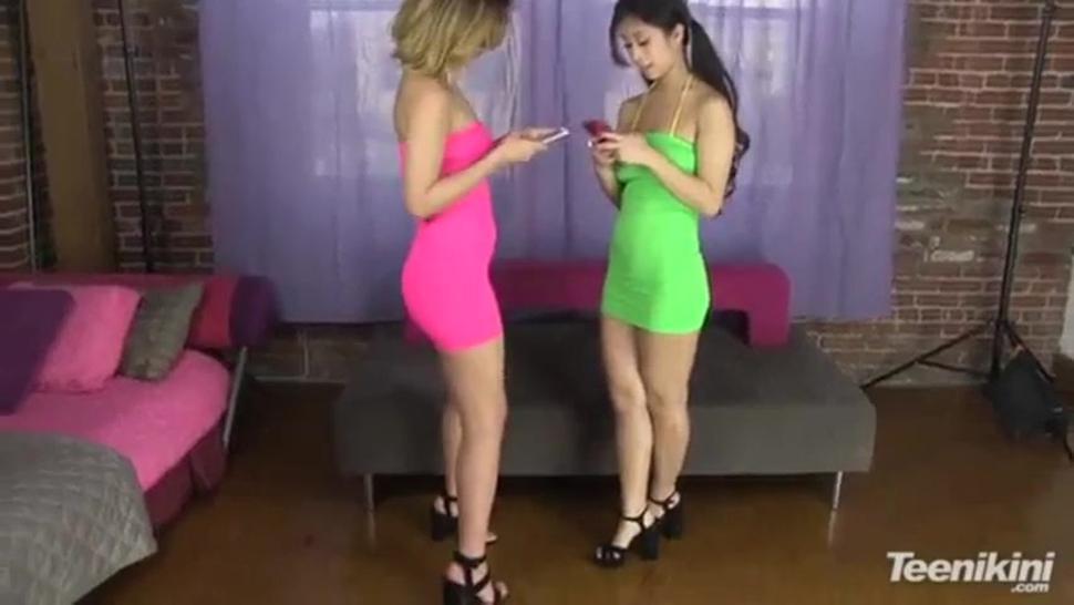 Dillion Harper & Jade Kush in bikini