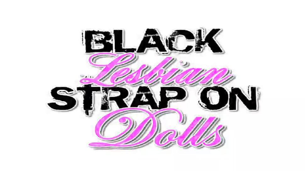 Black Strap On Dolls