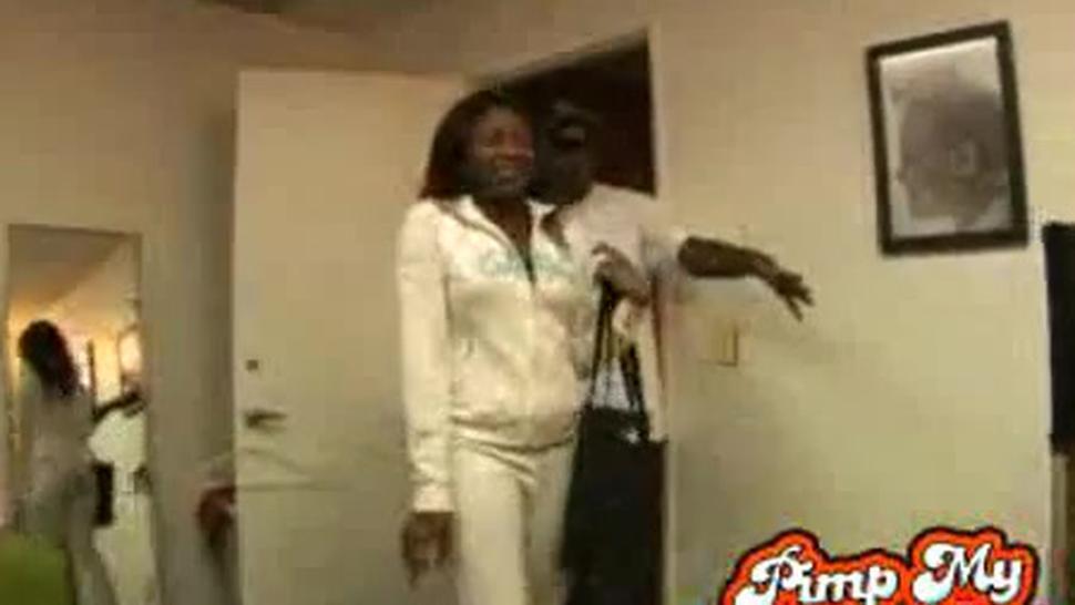 Pimped Out Ebony Girl