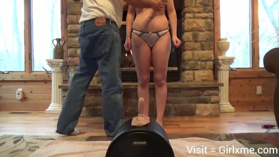 sexy milf school teacher from craigslist loses it on sybian