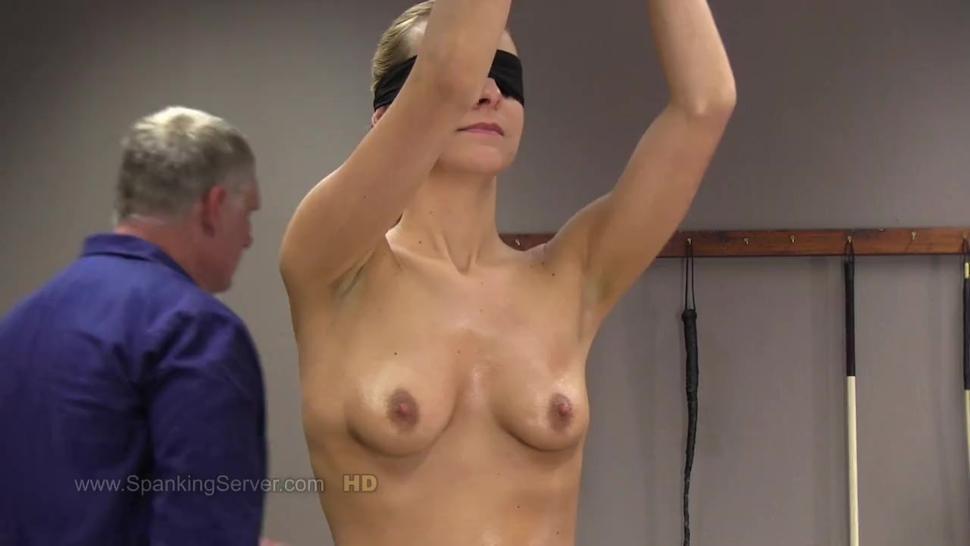 Whipped, Bound and Blindfolded While Nakedr