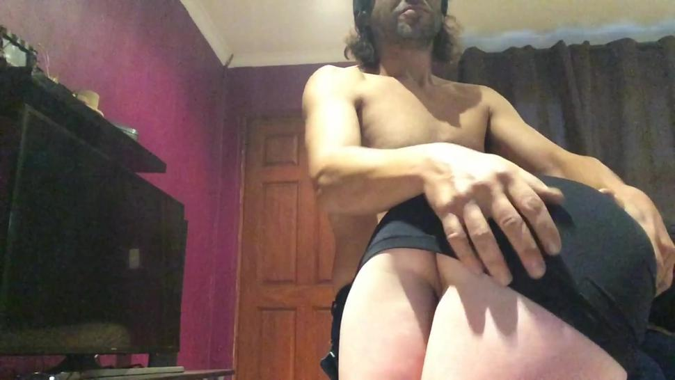Naughty, sexy ass Milf spanked and fingered