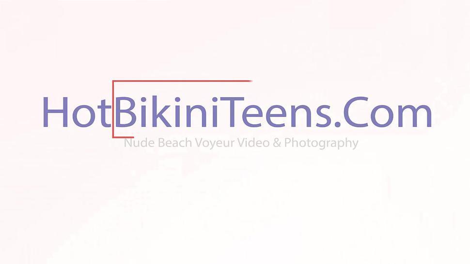 Sexy Bikini Girls Beach Voyeur Hd Video 02