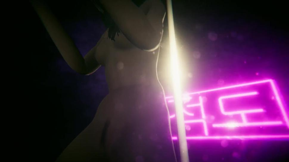 Fully Nude Kristen Stewart Dance, Ride, Eat Her Pussy at strip club