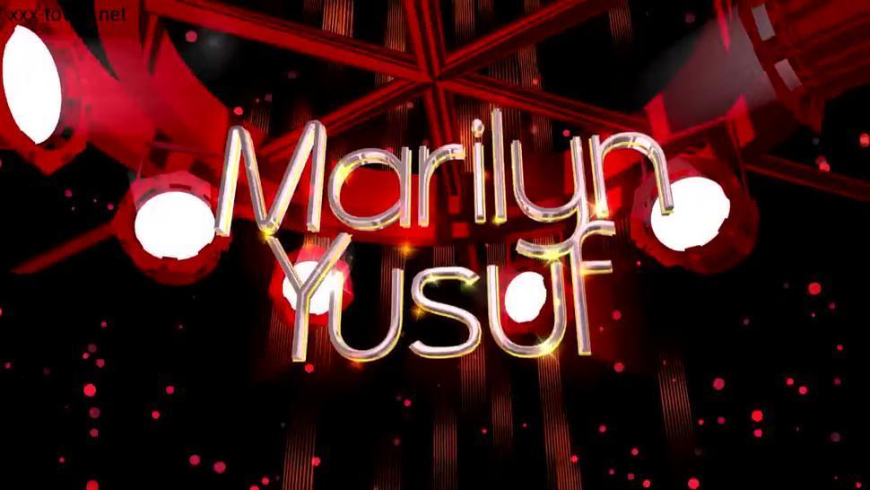 Marilyn Yusuf Part 45 - Walking Around In My New Latex Catsuit