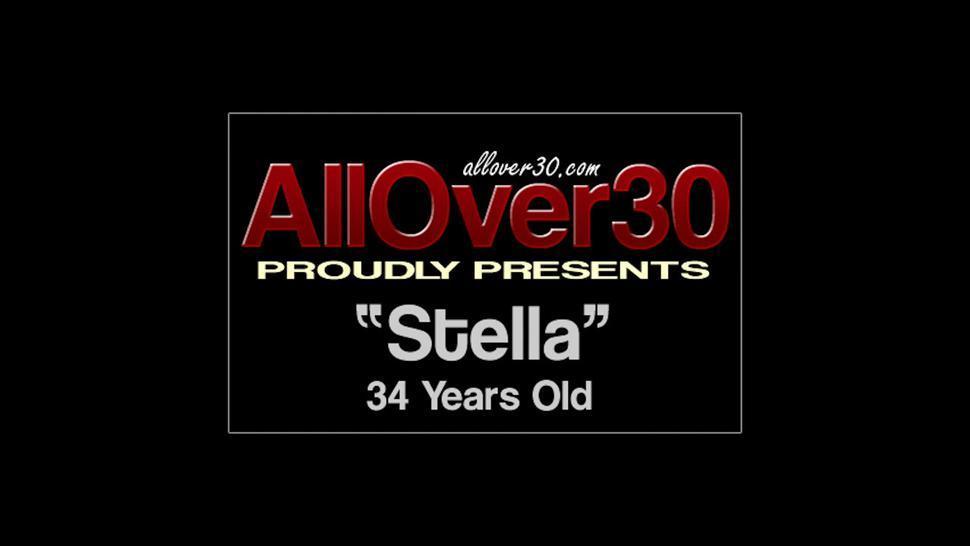 Mature Amateur Stella Has Outdoor Sex